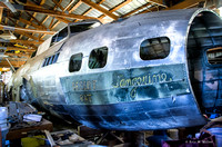 Desert Rat B-17 Restoration - Marengo, IL